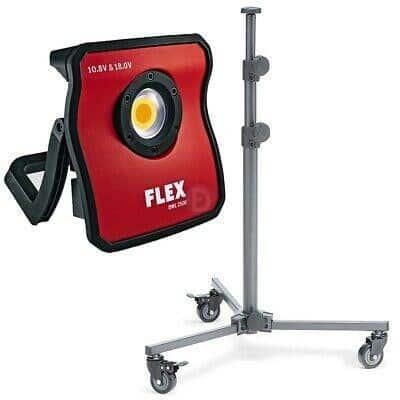 FLEX DWL 2500 10.8/18.0 LAMPE LED + TREPIED + BATTERIES - FORMULA DETAILING