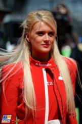 A Starting Grid Girl