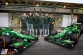 Giedo van der Garde and Charles Pic, Caterham F1 Team, CT02