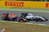 Daniel Ricciardo (Red Bull Racing, RB10) and Valtteri Bottas (Williams F1 Team, FW36)
