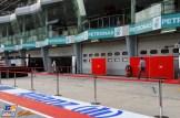 The Pit Lane for the Sepang International Circuit
