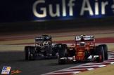 Kimi Räikkönen (Scuderia Ferrari, SF15-T) and Nico Rosberg (Mercedes AMG F1 Team, F1 W06 Hybrid)
