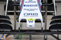 A Front Wing for the Felipe Massa Williams F1 Team FW37