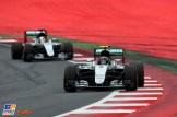 Nico Rosberg and Lewis Hamilton, Mercedes AMG F1 Team, F1 W07 Hybrid