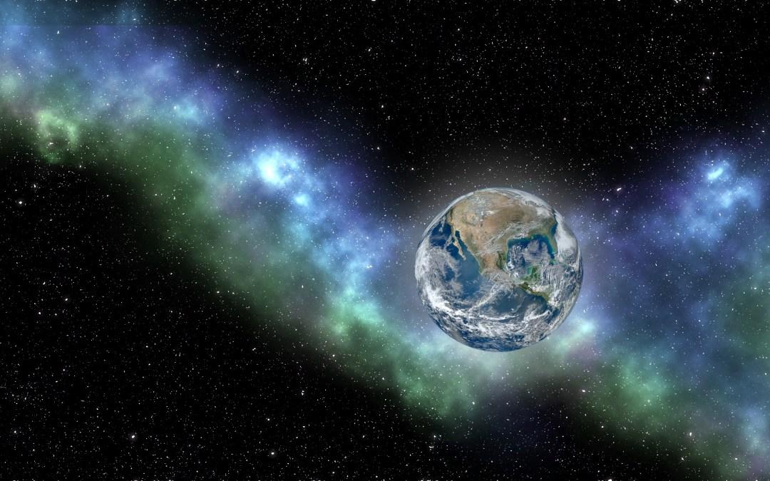 Energies Showering Earth