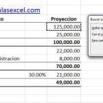 Calculo Inverso en Excel – Buscar Objetivo