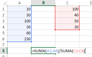 guia-formulas-excel-division-de-sumas-de-rangos