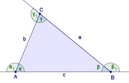 Резултат слика за geometrija uglovi trougla