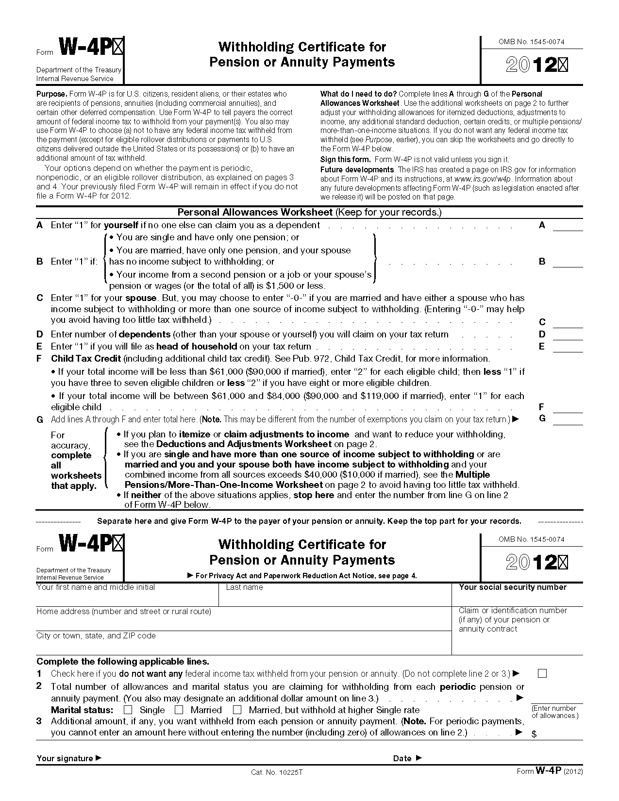 Irs Form W 4 Gratuits Proposes Par Nos Experts