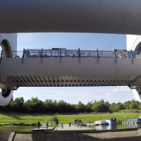 Amazing engineering work: The Falkirk Wheel Archimedes and a Boat Lift