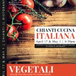 Chianti Cucina Italiana: Vegitali – 5/1/18