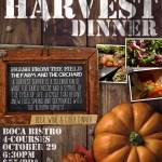 Harvest Beer, Wine & Cider Dinner