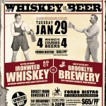 Whiskey Vs. Beer at Forno Bistro