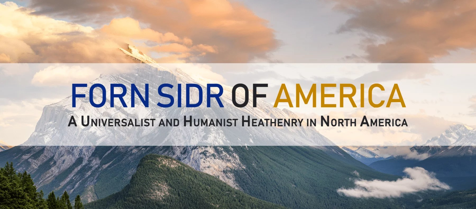 Forn sidr of America:  Universalist and Humanist Norse heathenry