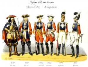 Musketörer - Wiki Commons, Charles Vernier (1831-1887)