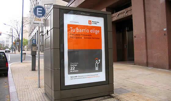 Identidad Montevideo. Publicidad de elecciones para el «Presupuesto Participativo 2006».