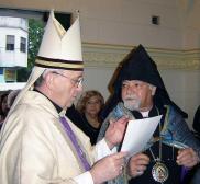 Francisco and Archbishop Kissag