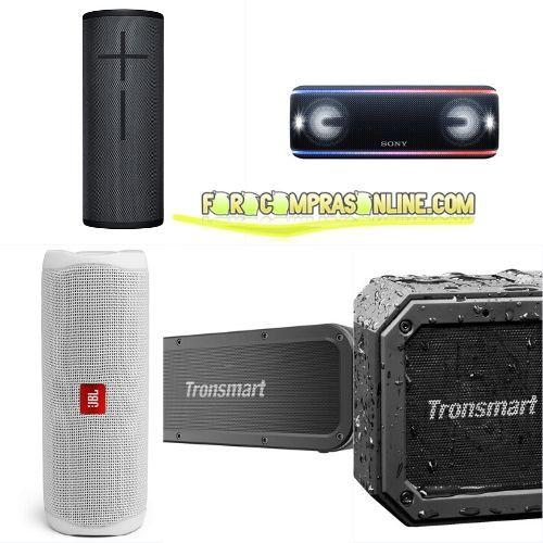 Los 5 mejores altavoces Bluetooth calidad-precio
