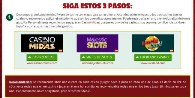 estafa martingala casino timo theplayprofit playcashsystem 3