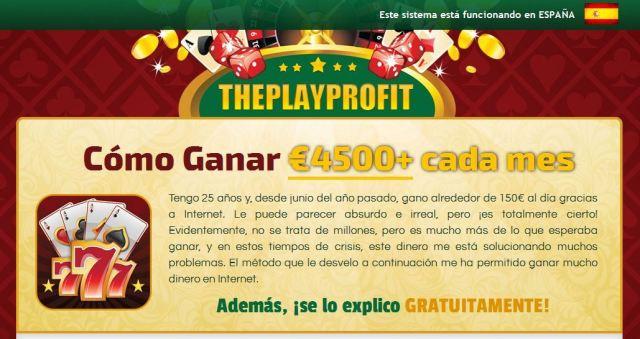 complicidad en los fraudes theplayprofit fraude casino ruleta martingala casinomidas majesticslots luckland