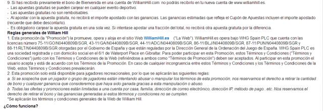 williamhill bono bienvenida esp150 casa apuestas deportes 4 foronaranja