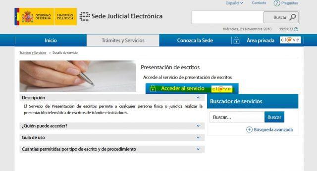 juicio verbal denuncia demanda sede judicial electronica gratis 2000 casa apuesta 3 foronaranja