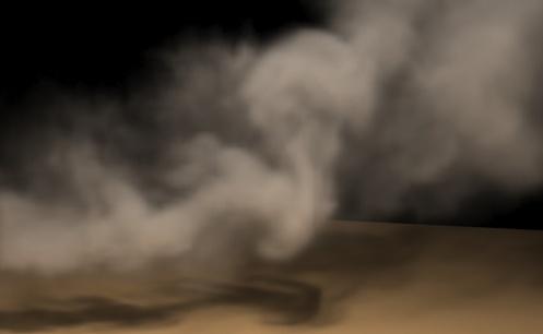 el humo de satanas