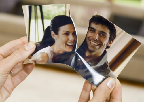divorcio, rotura de una foto fondo