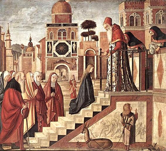 Resultado de imagen para Foto Presentación de la Virgen