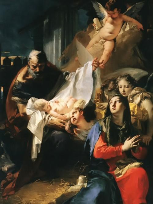 NACIMIENTO DE XTO Giovanni Tiepolo