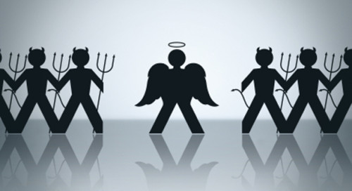 angeles y demonios dibujo