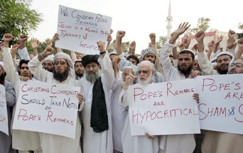 musulmanes critican a benedicto xvi en 2006