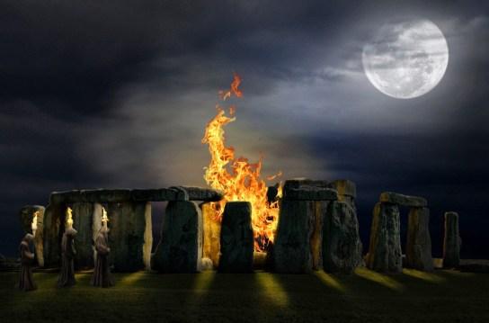 Resultado de imagen de halloween druidas