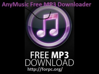 AnyMusic MP3 Downloader 5.0.1 Download Full Free