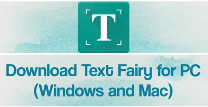 Text Fairy for PC