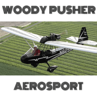 AEROSPORT WOODY PUSHER - REPLICA Curtiss-Wright CW-1 Junior - PLANS AND INFORMATION SET FOR HOMEBUILD AIRCRAFT