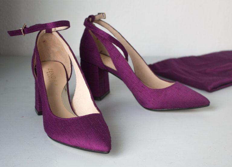 forrado zapatos