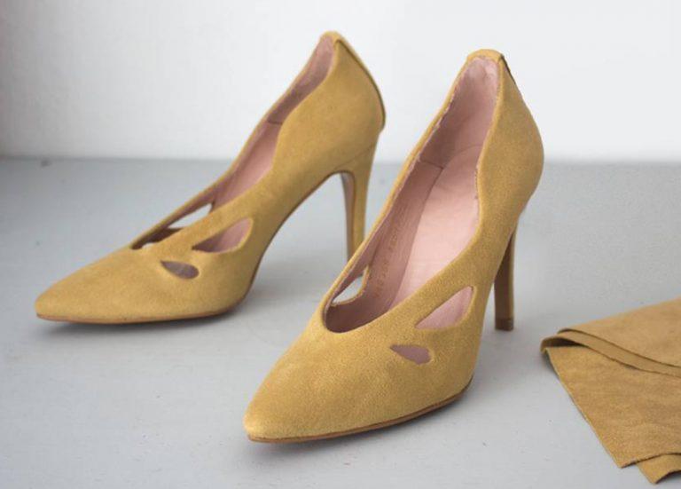 zapato forrado