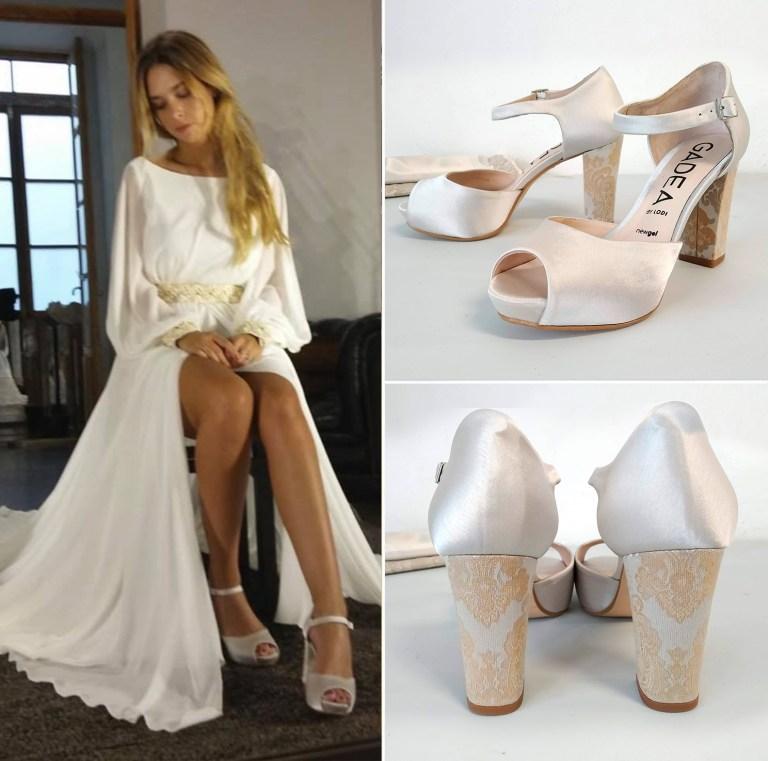 forrar zapatos novia
