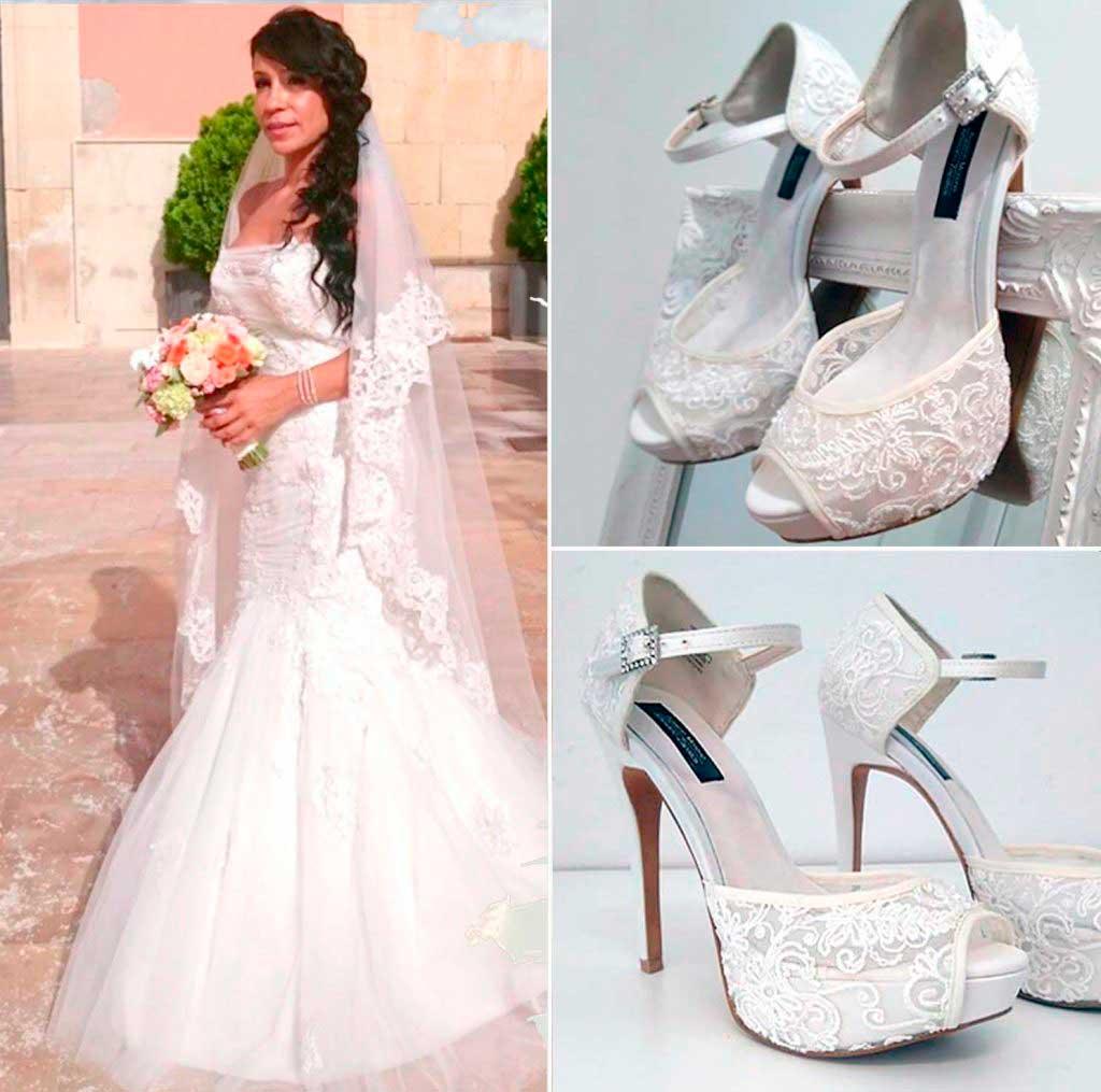 Forrado zapatos novia