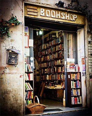 Image result for open door bookshop Rome
