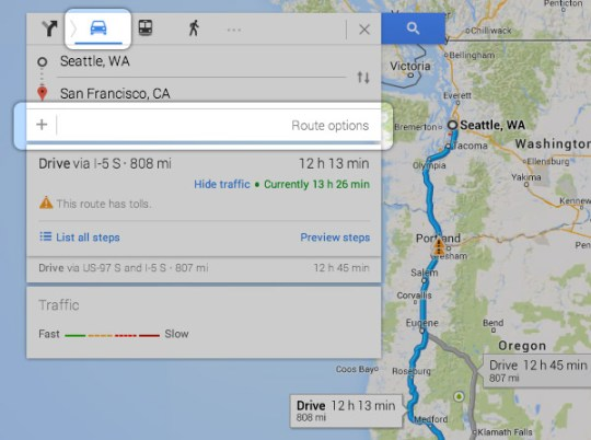 How To Add Multiple Destinations Or Stops In New Google Maps - Google maps multiple stops