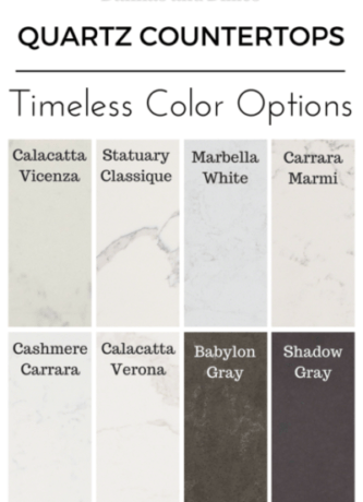 quartz color options