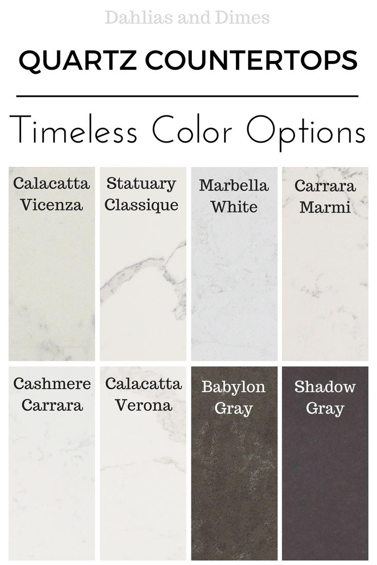 quartz color options