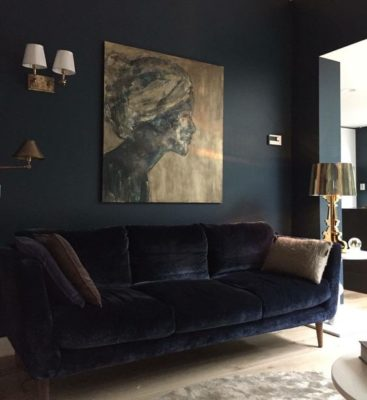 4 Reasons To Go Bold Dark Paint Color Ideas Forrester Home