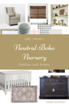 One Room Challenge: Week 1 | Neutral Boho Nursery Plans and Mood Board