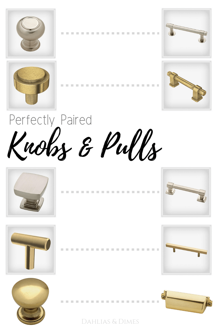 choosing knobs and pulls