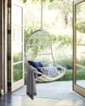 Splurge vs. Save | Outdoor Hanging Chairs + Modern Porch Swings