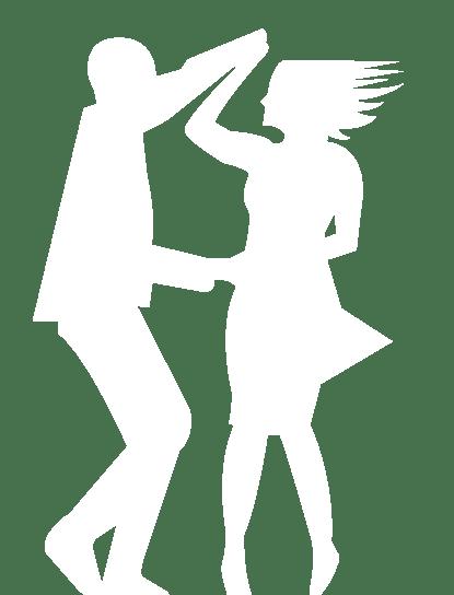 Tänzer aus dem Logo
