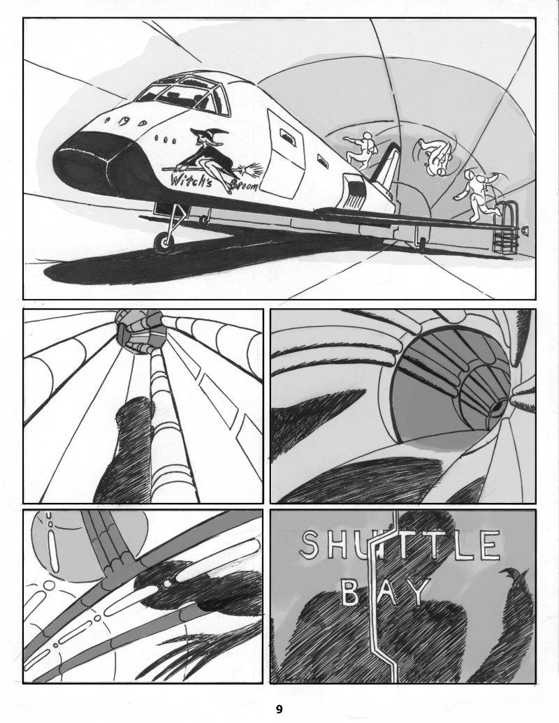 Forsaken Stars Issue One Page 9
